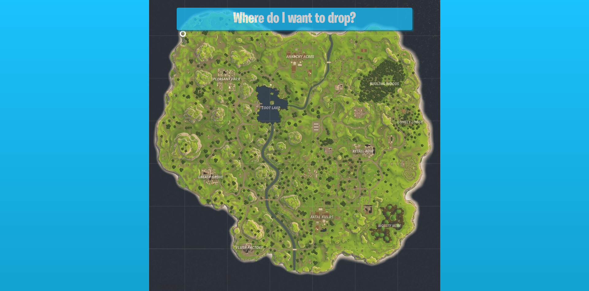 Fortnite Random Drop